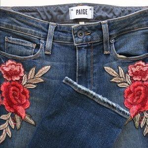 Paige Floral Jeans